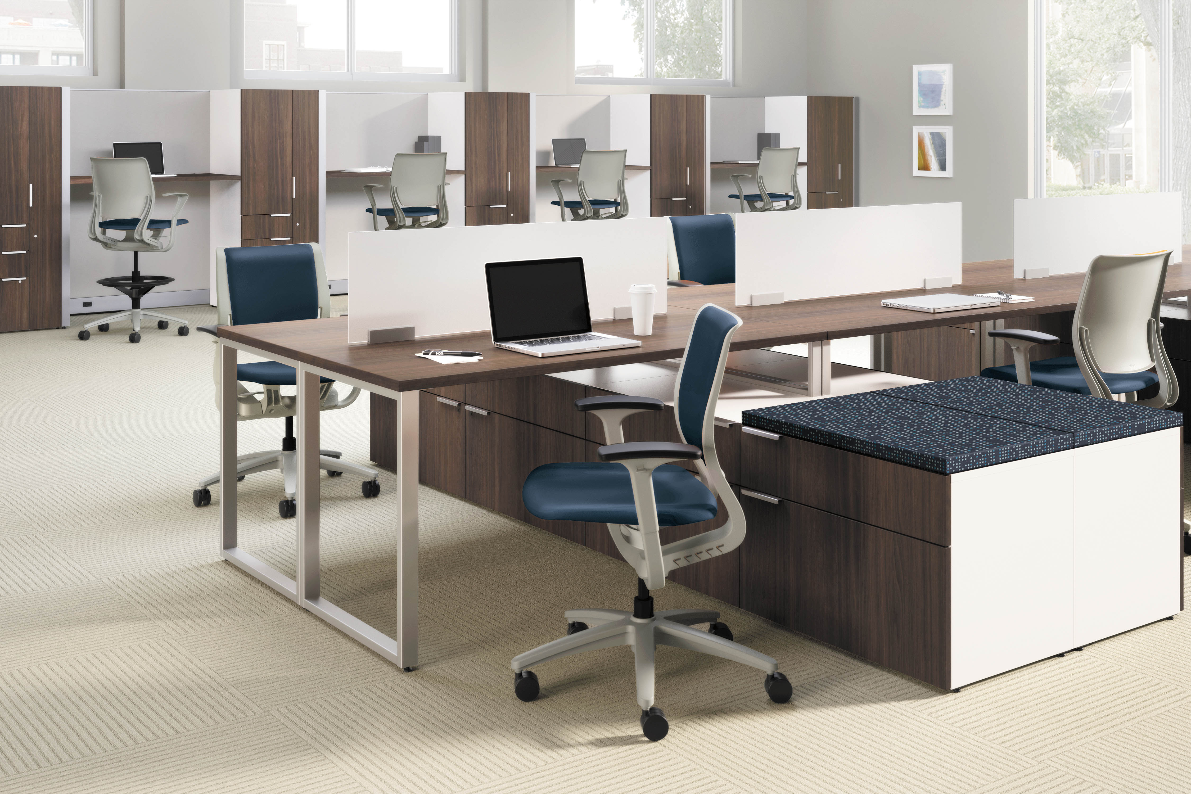 Benching System Indoff Interior Solutions