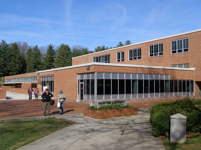 Hunter Library Façade