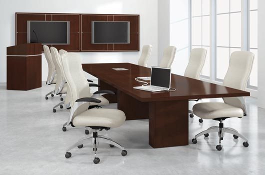 Conference Room Storage Indoff Interior Solutions - Conference table with storage