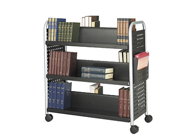 Safco Book Cart 1