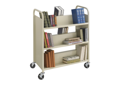Safco Book Cart 2