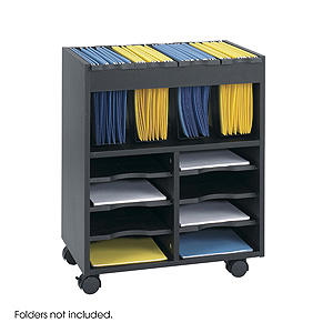 Safco Mobile File Cart 4
