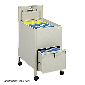 Safco Mobile File Cart 6