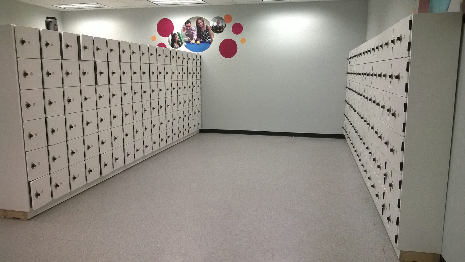 Ideal Products laminate lockers