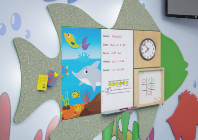 Raspberry Concert Wall System Pediatric 1
